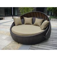 Indoor Office / Home Resin Wicker Daybed With Aluminium Frame Manufactures