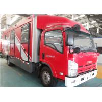 Fast Speed Gas Supply Fire Truck 4x2 Drive Imported Lifting Lighting System Manufactures