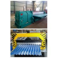 China automatic roof sheet corrugated  IBR roll forming machine on sale