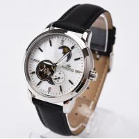 China Mineral Glass MOP Dial Mechanical Automatic Watch RED Black Classic on sale