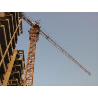 Travelling Tower Crane For Construction , QTZ125 Elevator Lifting Equipment