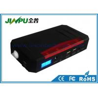 China 13600Mah 12V Jump Starters With Air Compressors Black Plastic 600G on sale