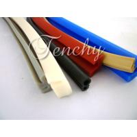Waterproof Flexible Silicone Seal Strip Dust Resistant , Shore 60A To 90A Manufactures