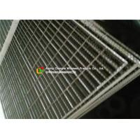 Industrial Plant Serrated Steel Grating With Frame Light Structure High Capacity Manufactures