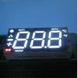 Triple Digit 7 Segment Custom LED Display Multiplexed Fit Heating / Cooling Control Manufactures