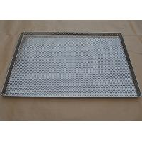 Perforated Stainless Steel Wire Mesh Tray Food Grade For Food Industry Manufactures
