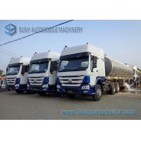 Custom 45000L Oil Tank Trailer 3 Axle , Diesel / Jet Chemical Tank Trailer Manufactures