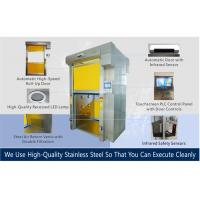 Large Space Clean Room Shutter Door Air Shower For Cargo / Forklifts Manufactures