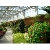 China Side Height 2-6m PC Sheet Greenhouse / Clear Polycarbonate Greenhouse For Flower on sale