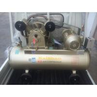 Sigle Phase Reciprocating Industrial Air Compressor Belt Type 8bar 3hp / 2.2KW 2 Cylinder 220V