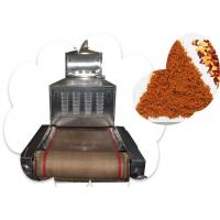 China 60KW Whey Proteins Microwave Drying Machine Tunnel Structure With Transmission System on sale