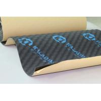 Auto Noise Reducing Sound Absorption Pad 8mm Adhesive Black Closed Cell Foam Manufactures