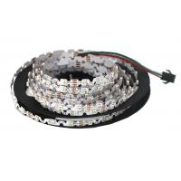 S Shape 6mm Width Flexible LED Strip Lights SMD 3528 Built In IC P923F WS2811 RGB Manufactures
