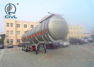 China Almunium Alloy Mobile Fuel Tanks / Semi Trailer Trucks Fuel Tank Semi Trailer Tank Truck Oil Tank Trailer on sale