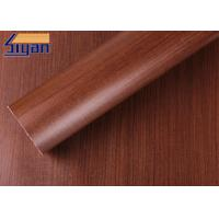 China Professional Maple PVC Decorative Foil , PVC Wood Film Free Sample on sale