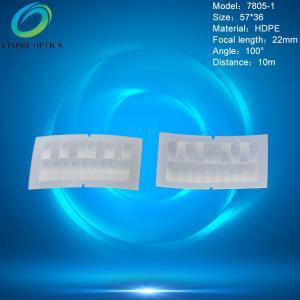 China Factory supply HDPE material infrared fresnel lens ,pir sensor fresnel lens ,pir lens for humanbody infrared detection on sale