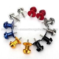 China Motorcycle Spare Parts CNC Billet Aluminum Alloy 6mm 8mm 10mm Swingarm Spool on sale
