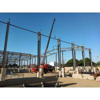 Prefab Metal Workshop Prefabricated Steel Structure Building ISO9001 Listed Manufactures
