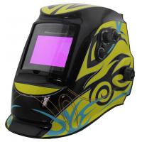 Solar Powered Auto Darkening Welding Helmet , Auto Tint Welding Helmet CE Approved Manufactures