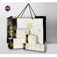 China Natural Color Paper Brocade Gift Box , Eco-Friendly Straw Household Paper Towels on sale
