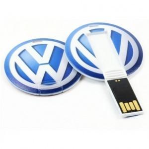 China Round Card Business Card USB Drive Flash Drive Memory Stick 32GB 1 Year Warranty on sale