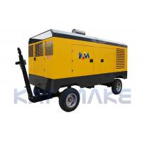 China Steel Diesel Driven Air Compressor For Abrasive Blasting 2 Years Warranty on sale