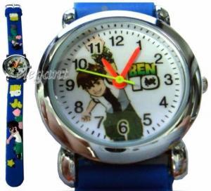 Blue Ben 10 Ten BEN10 Kids Children Quartz Wrist Watch Manufactures