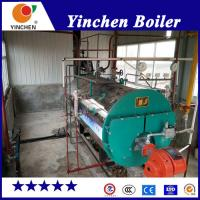 Laundry Diesel Steam Boiler / Natural Gas Fired Boiler Remote PLC Control Manufactures