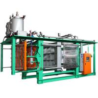 China High Density Polystyrene EPS Auto Moulding Machine Fast Speed For EPS Box Mould on sale