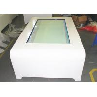 Touch Screen Table 1080P , Touch Screen Interactive Kiosk  ROHS Manufactures