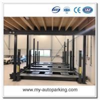 Tripple Stacking Parking Lift/Car Parking Lift 3 Deck System/Hydraulic Parking System Independent/Underground Garage Manufactures