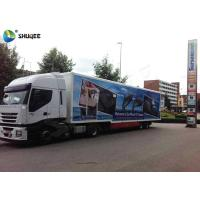China Customize Color Mobile 5D Cinema Truck  With 12 Seats / Xd Movie Theater on sale