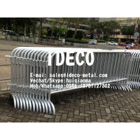 China Stainless Steel Crowd Control Fence Barriers, Temporary Fencing, Portable Security Guard Barricades on sale