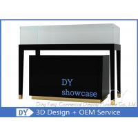 Popular Black Display Glass Showcase / Jewelry Store Showcases Manufactures