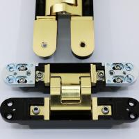 Satin Brass Invisible Hinges Manufactures