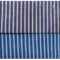 Yarn Dyed Cotton Denim Stripe Fabric Manufactures