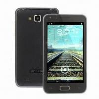 China 3G Phone with Android 4.0 OS, WCDMA/GSM Networks and Dual Cameras on sale