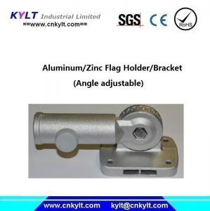 China Aluminum Angle Adjustable Flag Holder/Bracket on sale