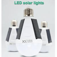 7W Rechargeable Solar Bulb LED Solar Lamp E27 Waterproof Outdoor Solar Light Emergency Camping Hiking Fishing Lights Manufactures