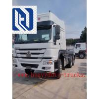 RHD 10 Wheels 6x4 371 HP Tow Tractor / Prime Mover Truck with 1 sleeper 3.5inch king pin Manufactures