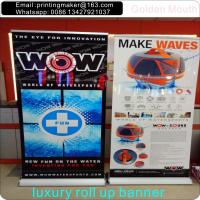 Scrolling Retractable Trade Show Banner For Exhibition Manufactures
