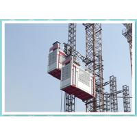Heavy Double Cage Rack And Pinion Lift , Industrial Elevators And Lifts Manufactures
