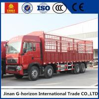 Commercial Cargo Truck SINOTRUK HOWO 12Wheels Euro2 336HP for Logistics Manufactures