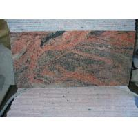 Multi Color Red China Nutral Stone  Granite 12X12 Paving facing the cap tiles slabs Manufactures