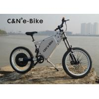 Lightweight Outdoor Sports Off Road Electric Bike , Electric Powered Bicycle Manufactures