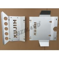 4x4 Offroad Accessories Skid Bash Plate For Toyota Hilux Vigo 2012+ Engine Guard Plate Manufactures