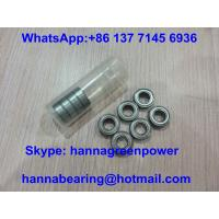 China MR128ZZ Low Noise Miniature Ball Bearing , MR128 High Speed Car Wheel Bearing on sale