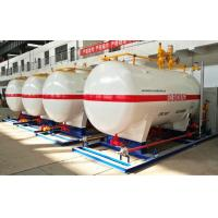 10CBM / 10000 Liters LPG Gas Storage Tank With Dispenser Equipments And Scales Manufactures