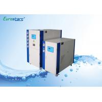 Lower Speed Water Cooled Water Chiller Scroll Commercial Chiller Units 145KW Manufactures