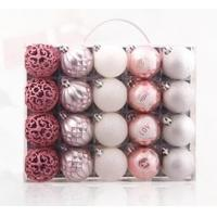 Christmas ball ornaments boxes 20 red gold 6 cm silver Christmas tree ornaments hanging pieces of household goods Manufactures